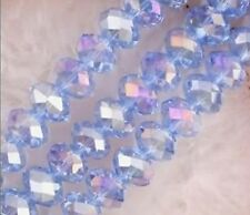 18-2 Crystal Loose Beads 6MM Jewelry Beads DIY AB Light Blue Free Shipping