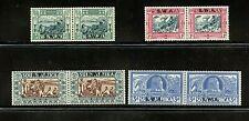 South West Africa #B5-B8 (SO463) comp 1938 Voortrekker Semi, M,LH,FVF, CV$109.00