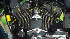Cover Coperchio Alettato Nero Vano Candele Harley Davidson Sportster Nightster