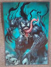 Marvel Spider Man Venom Glossy Print 11 x 17 In Hard Plastic Sleeve