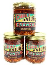 Trader Joe's Chili Onion Crunch 6 oz in Olive OIl Smoky & Spicy Choose 1,2 or 3