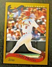 ALBERT PUJOLS (St. Louis Cardinals) 2002 TOPPS ALL-STAR ROOKIE CARD #160