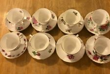 MISMATCHED TEA CUPS AND SAUCERS LOT #7 EIGHT SHABBY CHIC TEA PARTIES AND MORE