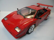 New Tamiya *LED* Lamborghini Countach XB Body/Wheels/Tyres/Foam Bumper For TT01