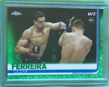 Cezar Ferreira *Green* 2019 Topps Chrome UFC #97/99