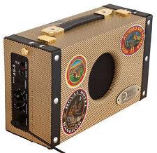LUNA AG-5 Guitar Suitcase AMP 5 watt BATTERY powered PORTABLE amplifier - AG5