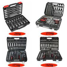Steckschlüssel Ratschenkoffer Werkzeug Set Stecknüsse Koffer