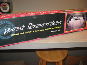 MIDWEST HOMES FOR PETS     AUTO PET BARRIER 4 BAR NEW UNOPENED BOX