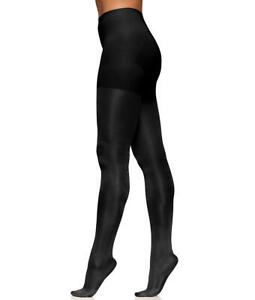 Berkshire The Easy On! Comfy Control Top Shine On Tights Black Tall $16 - NWT