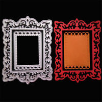 Frame Decor Metal Cutting Dies Stencils For Scrapbooking DIY Album Cards Making)