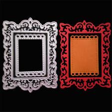 Frame Decor Metal Cutting Dies Stencils For Scrapbooking DIY Album Cards Making~