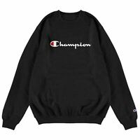 Champion Graphic Crew Pullover Mens Gents Jumper Full Length Sleeve Neck Warm