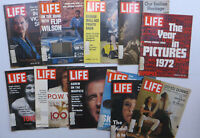 Lot of 11 Life Magazine Issues from the 1970s Advertising Galore