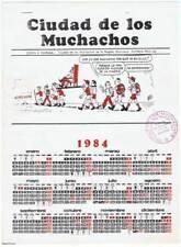 Calendario 1984. Ciudad de los Muchachos