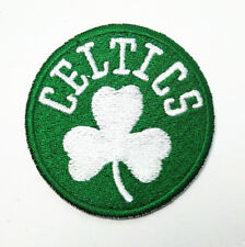 The NBA's Boston Celtics basketball embroidery patch