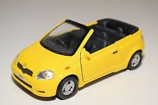 SS 5745 TOYOTA YARIS VITZ CABRIOLET CONCEPT YELLOW EXCELLENT CONDITION