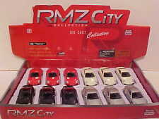 12 Pack of Porsche 911 Turbo Coupe Die-cast Car 1:64 by RMZ City 3 inch
