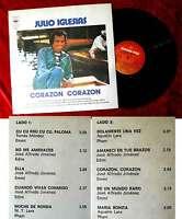 LP Julio Iglesias: Corazon Corazon (CBS 19480) Argentinien 1975