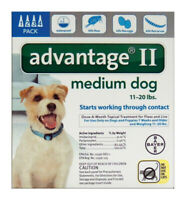 ADVANTAGE II MED DOG