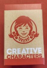 Wendy's Creative Characters Kids Meal Toy Mystery Figure Unopened  #3