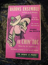 Partition Baion ensemble Ghestem Le Chin'toc Verschueren
