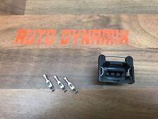 3 Pin Bosch Map Sensor/TPS plug with push clip Fits YB Cosworth