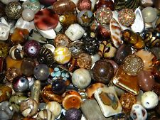 NEW 100 Jesse James Beads BROWN'S mixed SPACER (ONLY) LOT RANDOM PICK