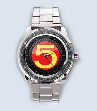 Get New Speed Racer Mach 5 Custom Stainless Steel Metal Watch