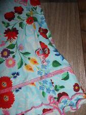 Usado Excelente Estado OILILY Vestido Talla 110 Hermosa Luz Azul Con Flores