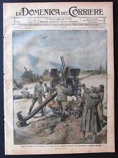 1916 Alpini Trentino PRIGIONIERI RUSSIA antiaeree ISOLA CASTELLORIZZO SALONICCO