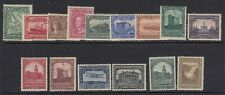 NEWFOUNDLAND-1928-29 Publicity Issues complete MM set to 30c Sg 164-178