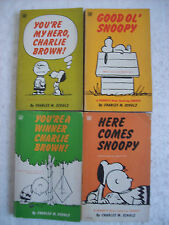 Here comes SNOOPY Good ol' You are my hero CHARLIE BROWN winner PEANUTS