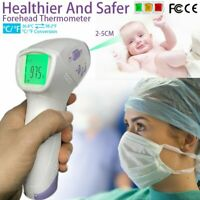 Digital Non-Contact Forehead Infrared Thermometer for Adults Fahrenheit Reading