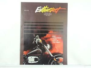 Vintage Winter 1983 ENTHUSIAST Motorcycle Magazine Roadster Harley Glide L3192