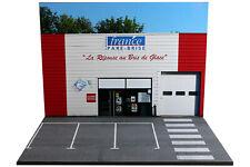 Diorama France pare-brise - 1/43ème - #43-2-E-E-019