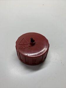 Earlex Steamer Wallpaper Stripper Replacement Screw Cap - Red/Yellow - Part