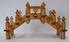 Fairy Garden Bridge 3D Wooden Fairy Craft Kit for Fairy Doors, Fairy Gardens etc