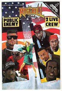 Rock N Roll Comics #19 Featuring Public Enemy & 2 Live Crew, Nr-Mt Minus Cond