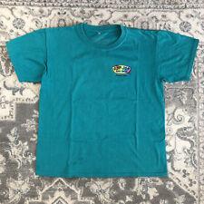 Ron Jon Surf Shop Grand Turk Shark Turquoise Youth large T-shirt