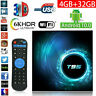 Smart tv box android 10.0 4K 6K 6GB+32GB wifi 2.4G 5G vp9 h.165 0608