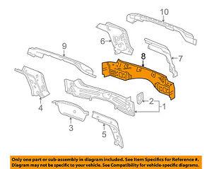 Cadillac GM OEM 10-16 SRX-Rear Body Panel 15893014