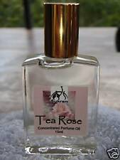 TEA ROSE Concentrated Perfume Oil by Sukran ~15ml~