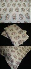 3 Three Euro European Sham Pillow Cover New Ralph Lauren ANTIGUA PAISLEY Fabric