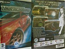 PC NFS Need for Speed Underground 1 gioco corse auto gioco AUTO CORSE OVP