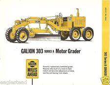 Equipment Brochure - Galion - 303 Series A - Motor Grader (Eb917)