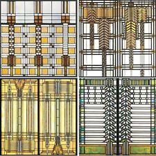 Frank Lloyd Wright Art Glass Design Coasters Set 4 Absorbent CoasterStone
