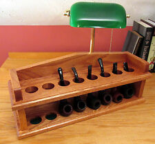 Twice On Sunday Mantel Pipe Rack Plan Build an 8 Tobacco Pipe Rack FREE Shipping