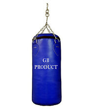 GB Punching Bag Filled 3 ft With Chain