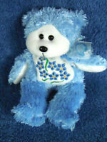 *1919a*  Forget-Me-Not the Bear - Skansen Beanie Kids - plush - 20cm - rare