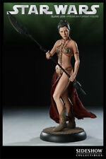 SIDESHOW STAR WARS SLAVE LEIA PREMIUM FORMAT 16.5 IN TALL 7177 NEW
